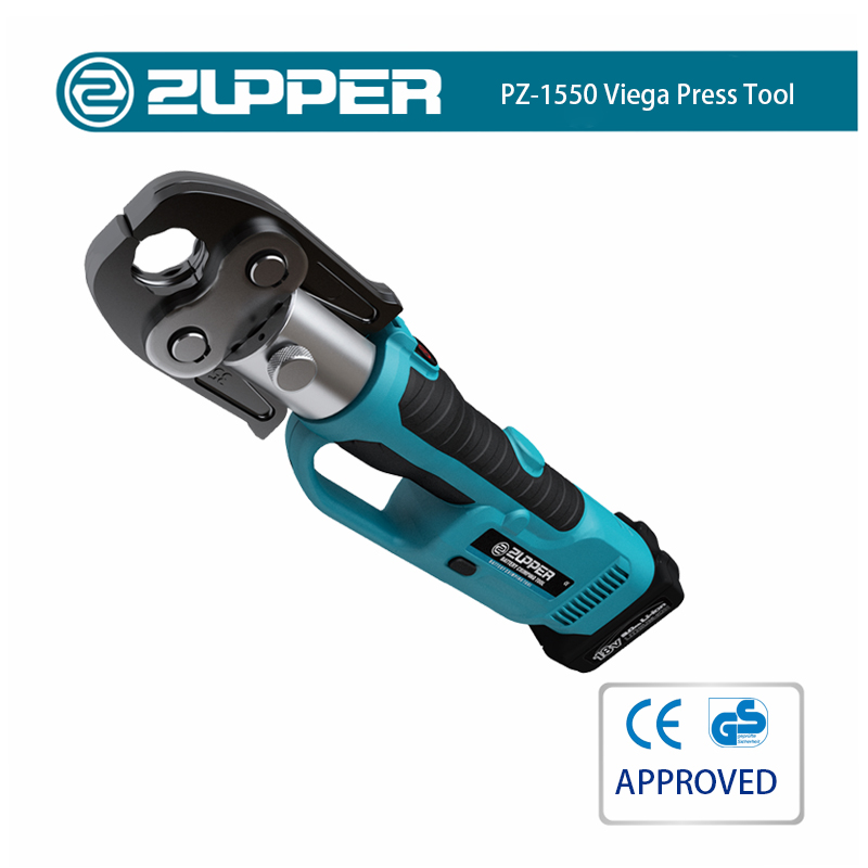 Zupper PZ-1550 Hydraulic Copper Pex Pipe Crimping Battery Power Tools