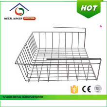 NEW 2016 Kitchen Accessories Wire Fruit Baskets With White