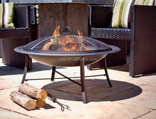 30 inch wood burning barbeque fire pit