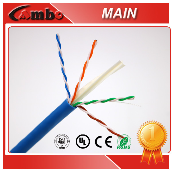 Strict Cable Line CAT5E CAT6 CAT7 Network Cable Indoor Wire Good PVC