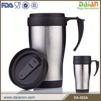 Custom Double Wall Travel Mug Plastic Inner