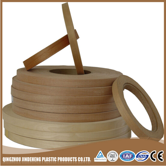 China Furniture Plastic Edge Banding Tape /Plastic chairs and tables pvc edge banding tape