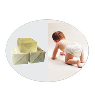 raw material adhesive for diaper and sanitary napkin