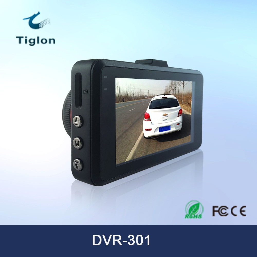 Tiglon Hotsale 3.0 inch DVR-301 Full Hd 1080p DashCam support G-sensor and WDR