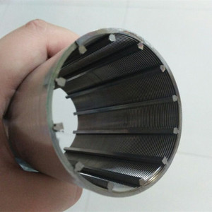 Johnson continuous wedge wire screen pipe for water purifier