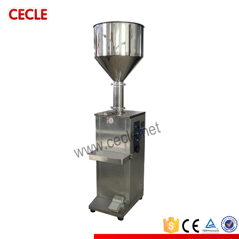 Wenzhou semi automatic toilet cleaner filling machine