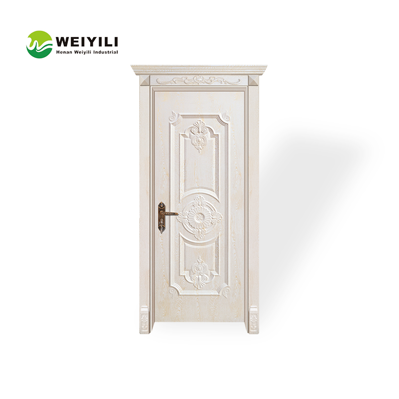 Fast processing speed pvc coated single flush door price in china