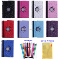 New products fold smart cover leather case stand for ipad 2 3 4 with stylus pen and screen protector