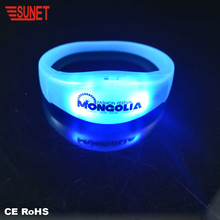 Sunjet Best Selling New Items Custom Silicone Bracelet Dropshipping
