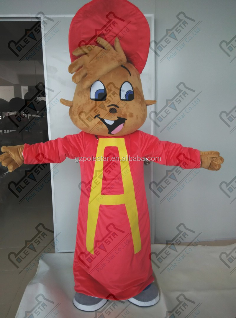 hot sale Alvin mascot costumes