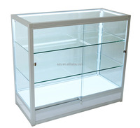 High quality cheap custom aluminum alloy 100*45*90cm popsicle glass display cabinet in retail store