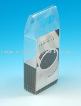 Custom Shape and Print Clear Folding Boxes