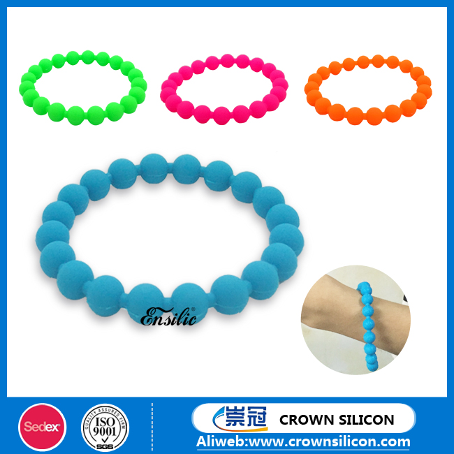 FDA promotional customized logo personalised silicone bracelet