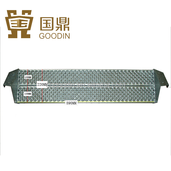 OUTDOOR METAL STAIR TREAD STEP COVERS