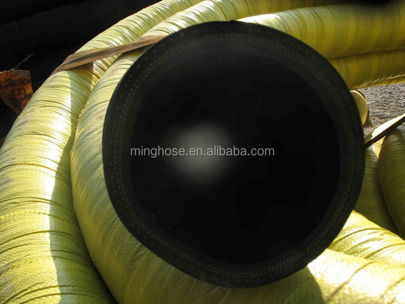 Rubber oil suction and delivery hose