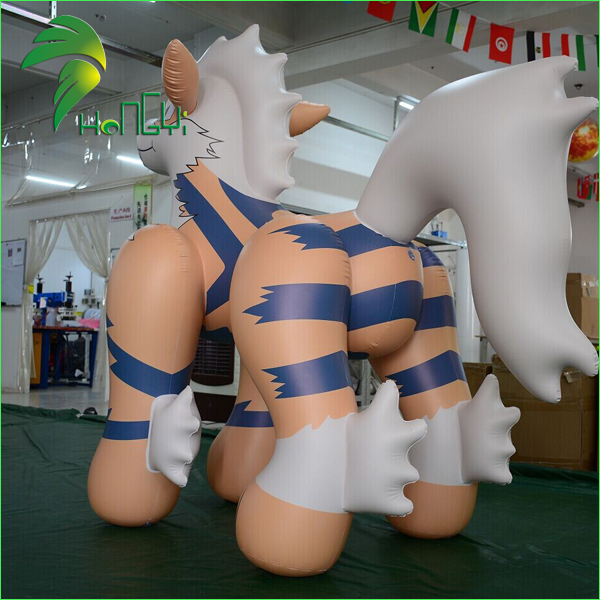 Awesome Inflatable Wolf Toy , Custom Made  Inflatable Pokemon Arcanine Cartoon Toy For Sale