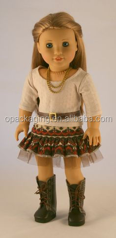 "wholesale 18"" inch doll clothes customized american girl doll clothes"
