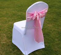 china Hot sale high quality wedding chair cover and sashes for hotel/wedding/ party decoration RD-chair