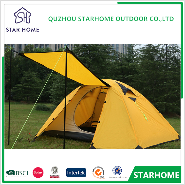 China made pU 2 person waterproof ultra light camping outdoor tent