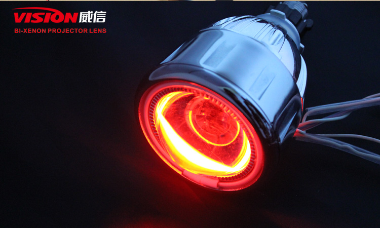 M807 Newest Car Or Motorcycle Mini Hid Bi-xenon Projector Len