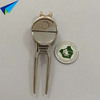 golf sports used golf divot tool with golf ball marker