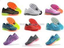 2014 latest breathable sport shoes top quality shoes hot selling brand men air sport running shoes