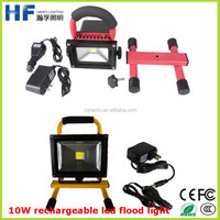 A quality waterproof 220V 10W portable led flood lighting for Europe