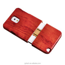 Smart wood walnut phone case wooden rosewood cell phone shell protective phone covers for Samsung Note3