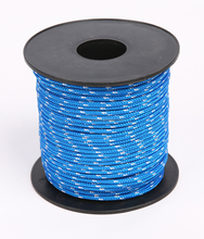 Blue color Braided 3mm PP packing rope in reel