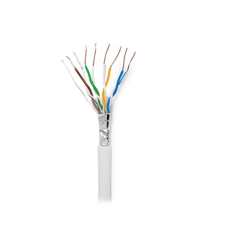 outdoor 100MHz multi-pair bare copper 1000ft BC 23awg <strong>u</strong>/ftp shielded Cat5e telecom cable