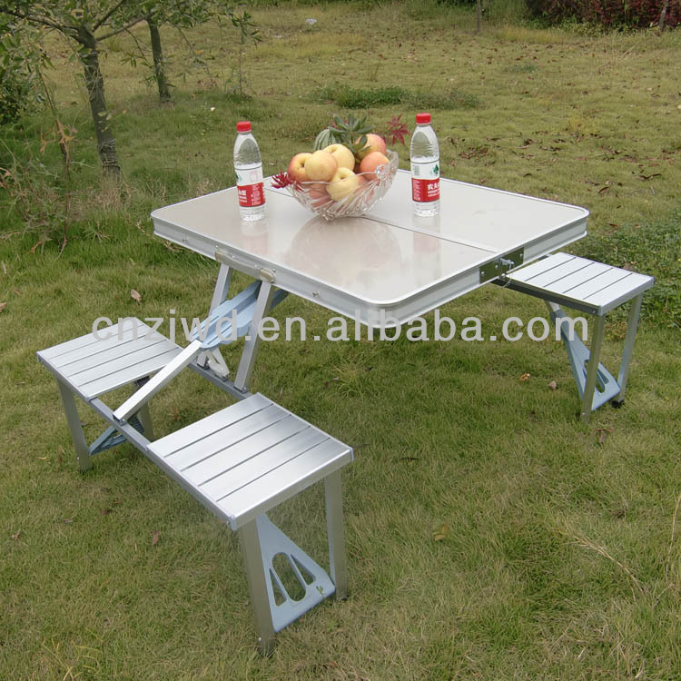 Outdoor Furniture Aluminum Camping Folding Chairs Tables