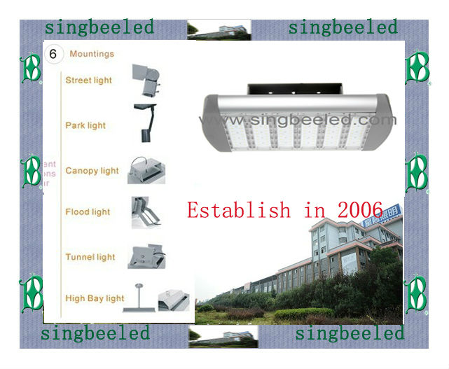 40W-250W CE RoHS DLC SGS 23years managing experience Modularled toshiba led lighting