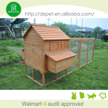 DXH016 Chinese cheap wooden commercial chicken coops