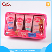 BBC Along Came Betty Gift Sets OEM 005 Custom pink beautiful 4pcs body care natural bathroom gift set