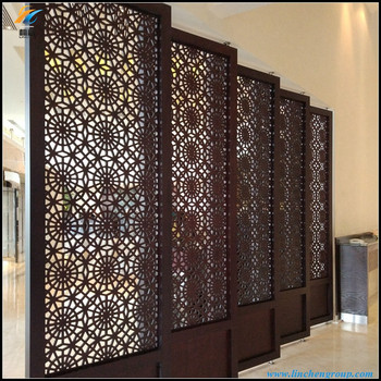 new design pvc folding grille panel screen