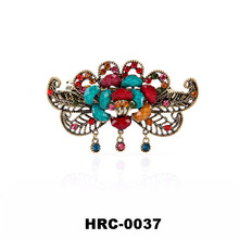 High Quality Hair Accessories Alloy Flower Jewelry Crystal Metal Lady Hair Claw