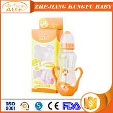 PP baby bottle food grade plastic milk bottle sterilized feeding bottle