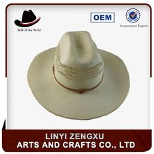 Best selling promotional australian bulk straw cowboy hat china