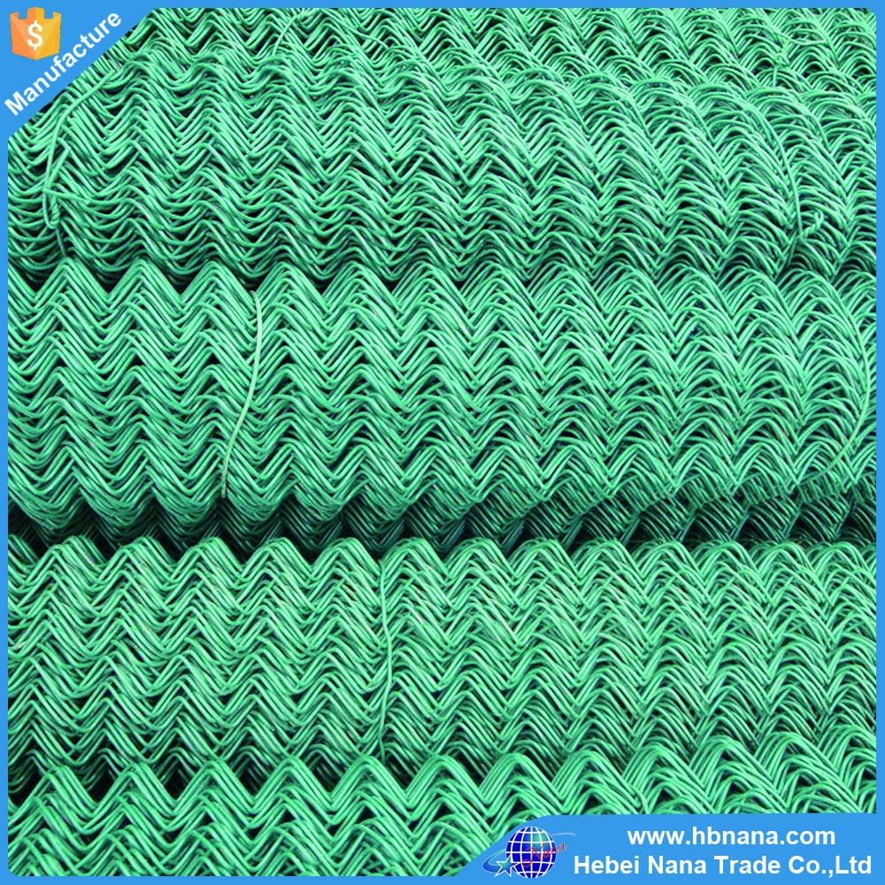 High quality Baseball Fields Chainlink Fence / galvanized used chain link fence price