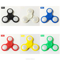 LED Light Hand Finger Spinner Fidget Plastic EDC Hand Spinner For Autism