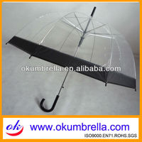 durable poe clear transparent umbrella for American market