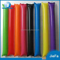 PE Promotion Event Cheering Stick Hand Clap Noise Maker Inflatable Cheering Sticks
