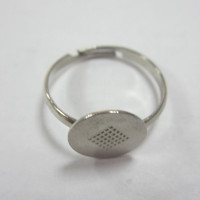 Fashion Metal Stretch Ring Bases For Jewelry Findings With High Quality