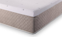 luxury beauty fabric dream collection sleep well double size foam bed mattress