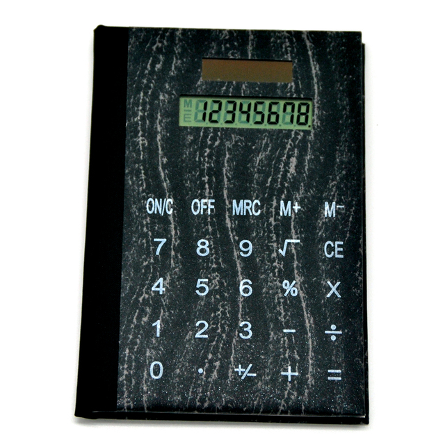 Business Gift Multifunction Office Notebook Calculator With Memo Pad