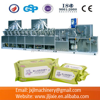 JL-Z80(30-80 pcs) Automatic Baby Wipes Making Machine