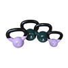 Wholesale Weight Lifting Color Vinyl Custom Logo Kettlebell