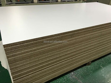 E1double side melamine laminated 18mm particle board