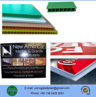 3mm 4mm 5mm Corrugated Signs for Yard