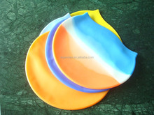 High Quality of 100% Silicon Waterproof Swimming Caps/swim Hats